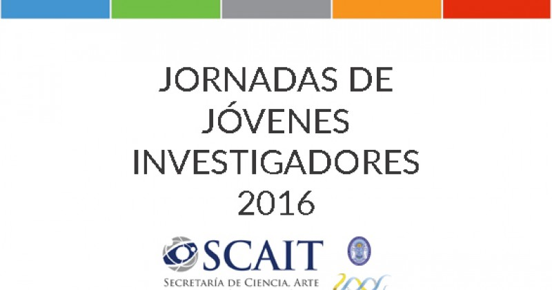 Jornadas de Jóvenes Investigadores UNT 2016